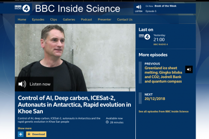 BBC Inside Science Programme